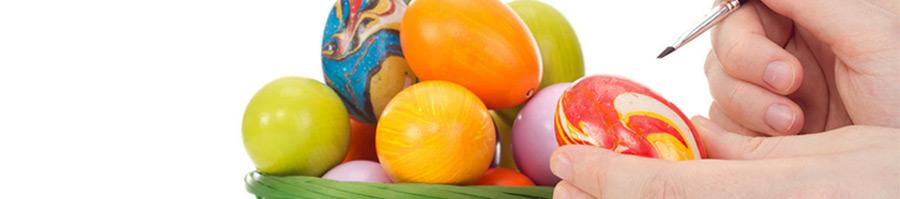 Βαφές - Αυτοκόλλητα Αυγών