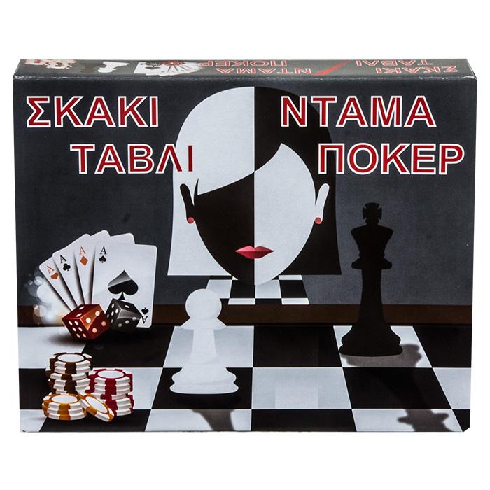 ΣΚΑΚΙ ΤΑΒΛΙ ΝΤΑΜΑ ΠΟΚΕΡ 29x24cm